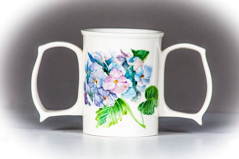 Hand Painted Dignity Mugs
