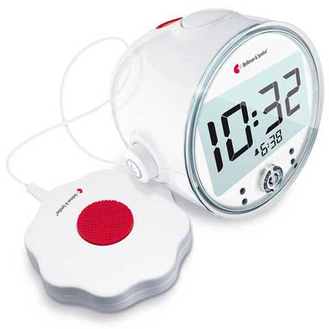 Alarm Clock Pro Vibrating Clock with LED Lights