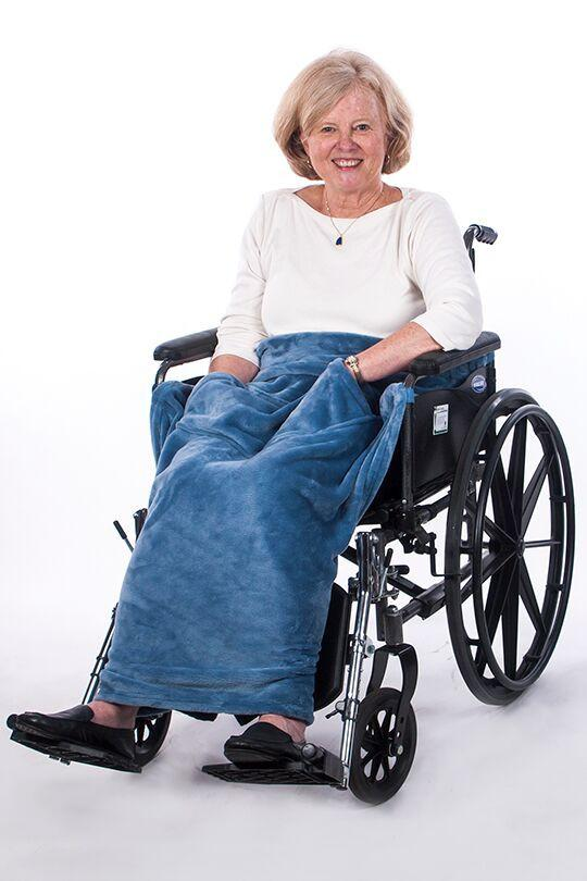 Granny Jo Lightweight Wheelchair Blanket