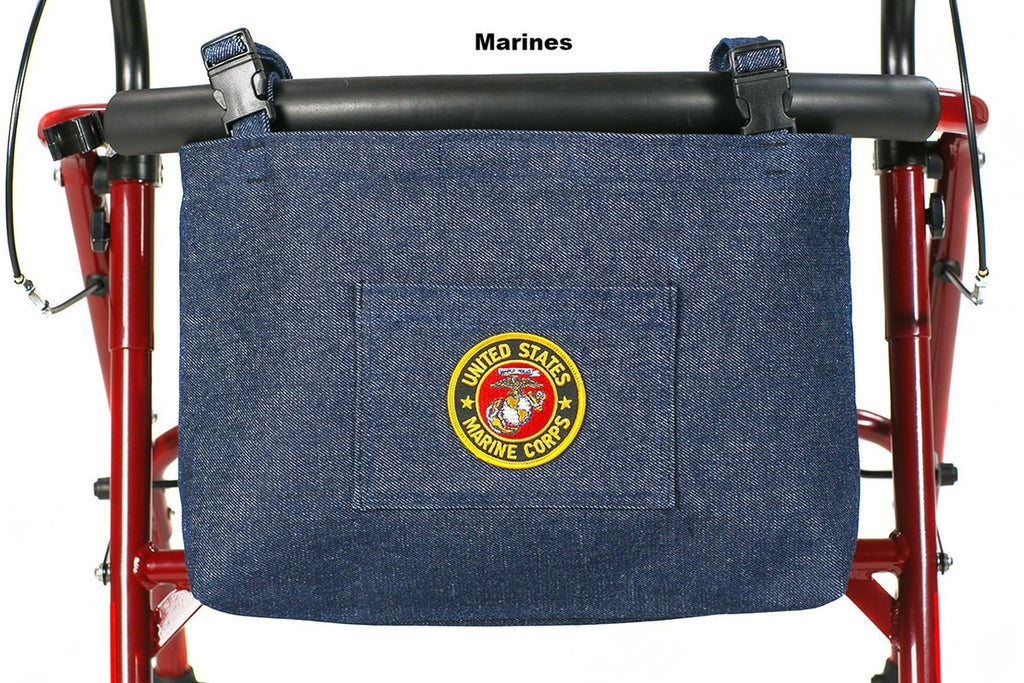 Military Insignia Walker / Rollator / Scooter Bags