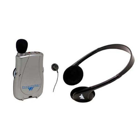 Williams Sound Pocketalker Ultra Personal Sound Amplifier Duo Pack System