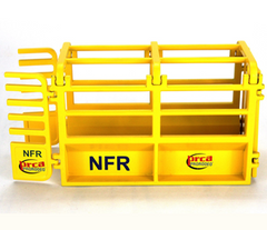 NFR Roping Chute