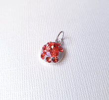 "Load image into Gallery viewer, Pandantiv ""Padparadscha Red"" - Cod produs PA10"