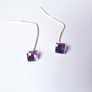 "Cercei ""Dangle Swarovski Earrings"" - Cod produs CE124"