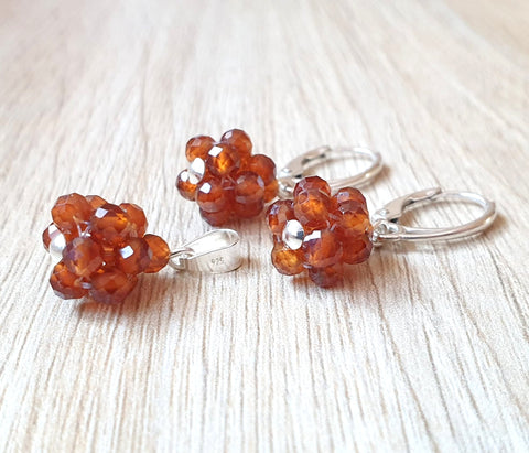 "Set ""Orange Garnet Candy"" - Cod produs SE65"