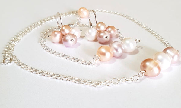 "Set ""Moon Pearls"" - Cod produs SE23"