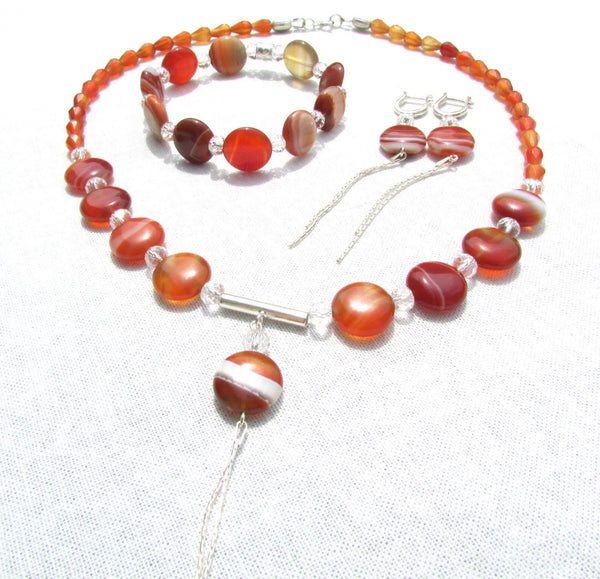 "Set ""Royal Carnelian"" - Cod produs SE7"