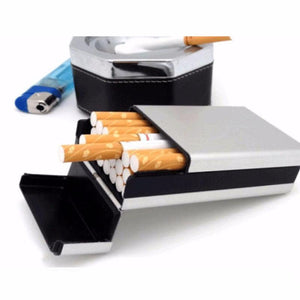 Aluminum Cigarette Case Holder