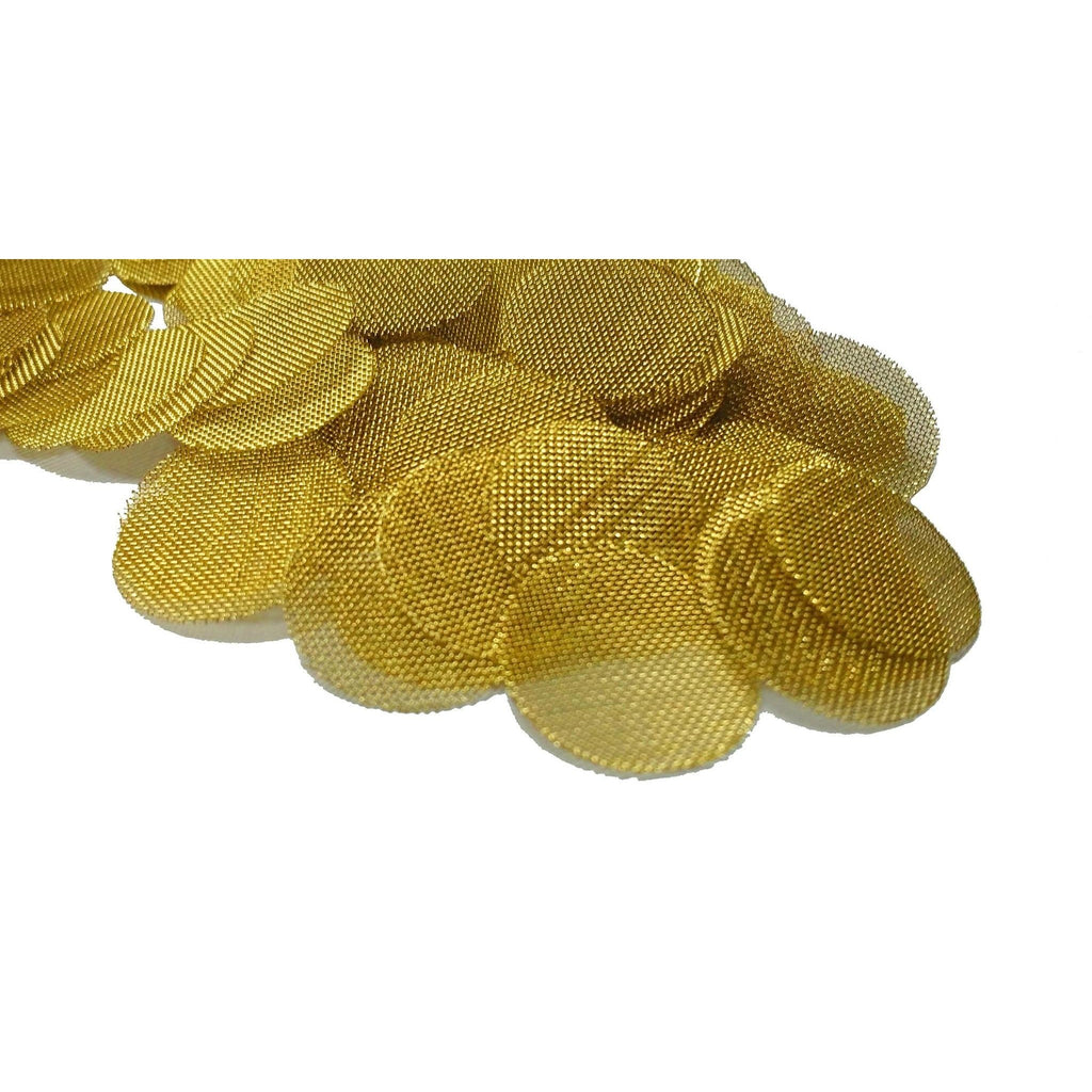 "100 Brass Tobacco Pipe Bowl Screens For Smoking Pipes - 3/4"" (.75) - WoodStonePipes.com   - 3"