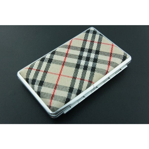 Pocket Leather Cigarette Tobacco Box Case Holder - WoodStonePipes.com   - 3