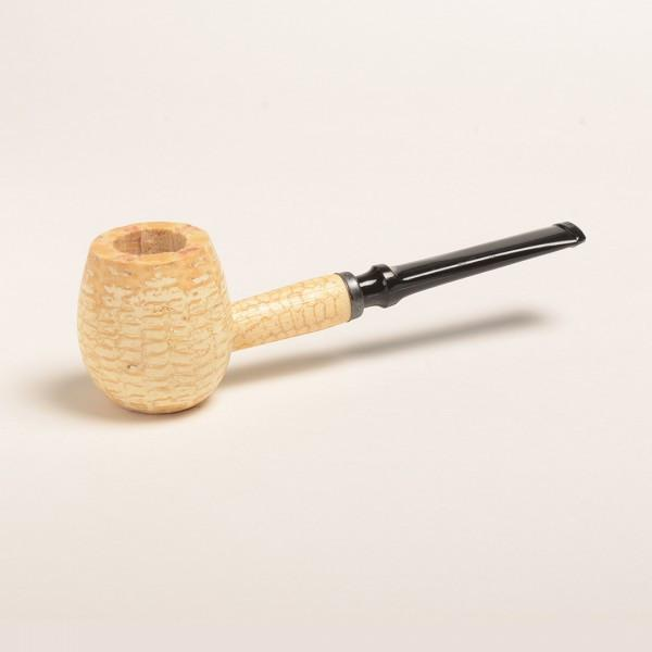 Diplomat Corn Cob Pipe - with Bent and Straight Bit - WoodStonePipes.com   - 4