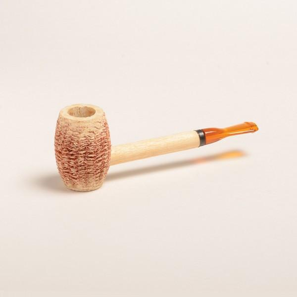 Eaton Corn Cob Pipe - with Straight Bit - WoodStonePipes.com