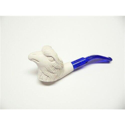 Miniature Meerschaum Pipe - Eagle Head