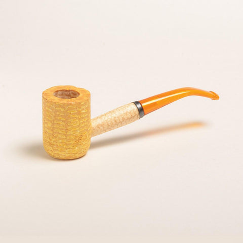 Legend Corn Cob Pipe - with Bent and Straight Bit - WoodStonePipes.com   - 5
