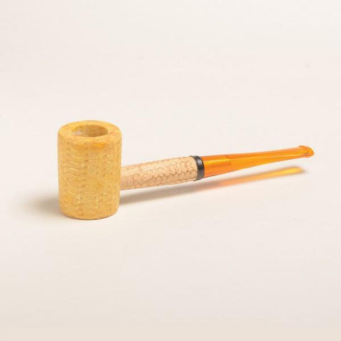 Legend Corn Cob Pipe - with Bent and Straight Bit - WoodStonePipes.com   - 4