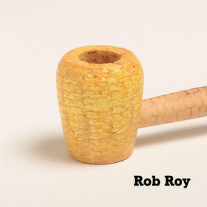 Legend Corn Cob Pipe - with Bent and Straight Bit - WoodStonePipes.com   - 2