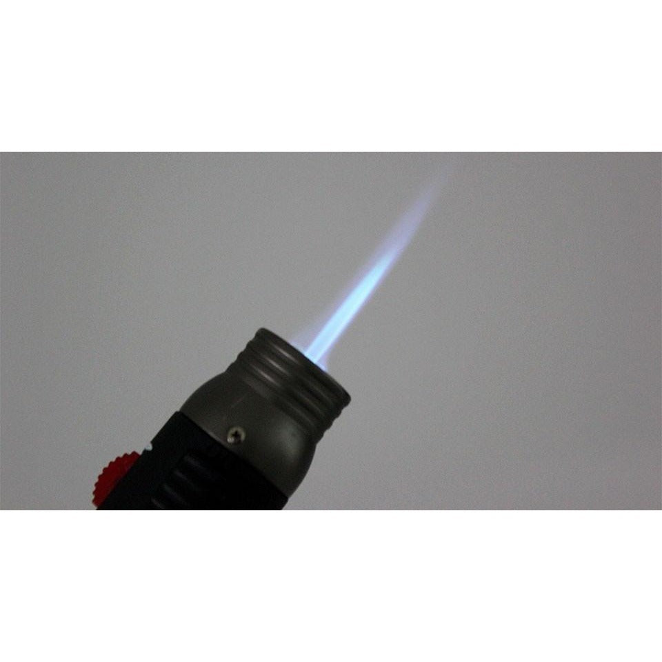 Pen Style Butane Jet Torch and Soft Flame Lighter with Easyto Adjust Switch - WoodStonePipes.com   - 4