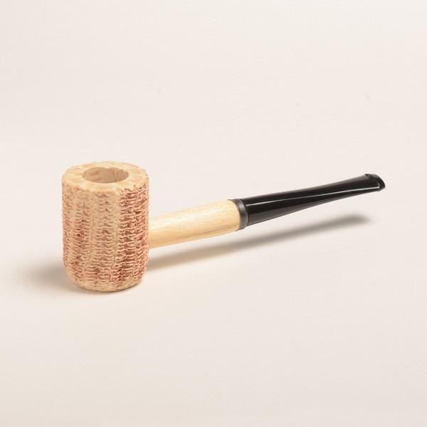 Missouri Pride Corn Cob Pipe - with Bent and Straight Bit - WoodStonePipes.com   - 2