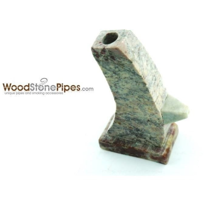 "3"" Stone Tower Pipe - WoodStonePipes.com   - 2"