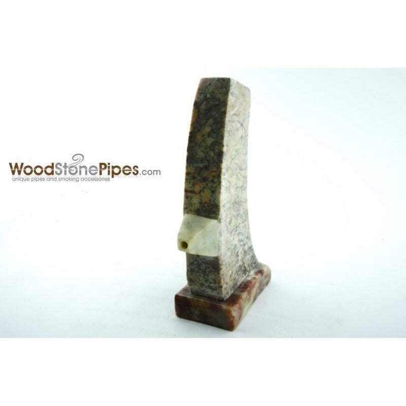 "3"" Stone Tower Pipe - WoodStonePipes.com   - 4"