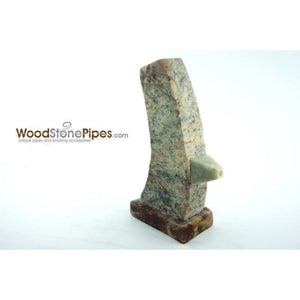 "3"" Stone Tower Pipe - WoodStonePipes.com   - 5"