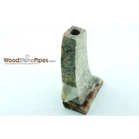 "3"" Stone Tower Pipe - WoodStonePipes.com   - 7"