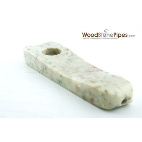 "Marble Colored Hand Stone Pipe - Smoking Tobacco Pipe - Collectible Pipe - 3.5"" - WoodStonePipes.com   - 4"
