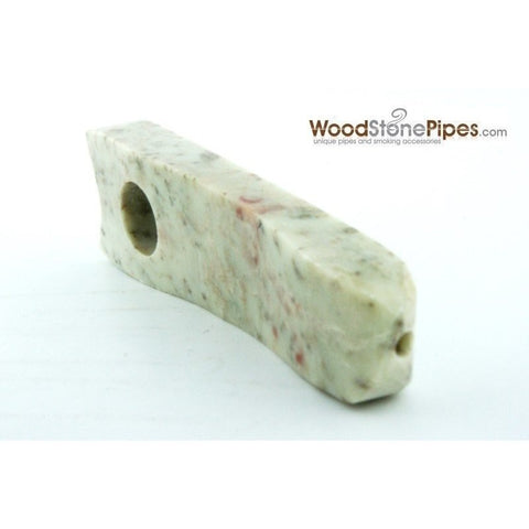 "Marble Colored Hand Stone Pipe - Smoking Tobacco Pipe - Collectible Pipe - 3.5"" - WoodStonePipes.com   - 5"