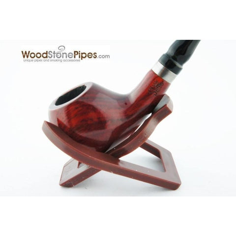 Bent Churchwarden Long Tobacco Pipe 5