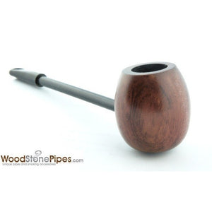 Elegant and Straight with Smooth Finish Bowl Smoking Tobacco Pipe - WoodStonePipes.com   - 1