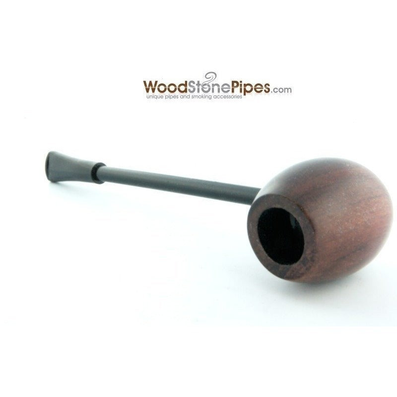 Elegant and Straight with Smooth Finish Bowl Smoking Tobacco Pipe - WoodStonePipes.com   - 2