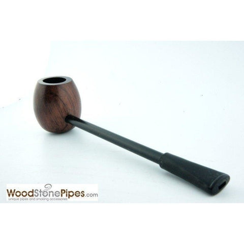 Elegant and Straight with Smooth Finish Bowl Smoking Tobacco Pipe - WoodStonePipes.com   - 3