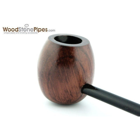 Elegant and Straight with Smooth Finish Bowl Smoking Tobacco Pipe - WoodStonePipes.com   - 4