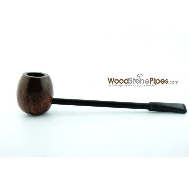 Elegant and Straight with Smooth Finish Bowl Smoking Tobacco Pipe - WoodStonePipes.com   - 6