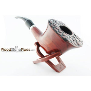 Engraved Freehand Tobacco Pipe - WoodStonePipes.com   - 10