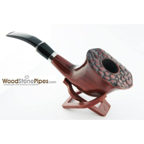 Engraved Freehand Tobacco Pipe - WoodStonePipes.com   - 2