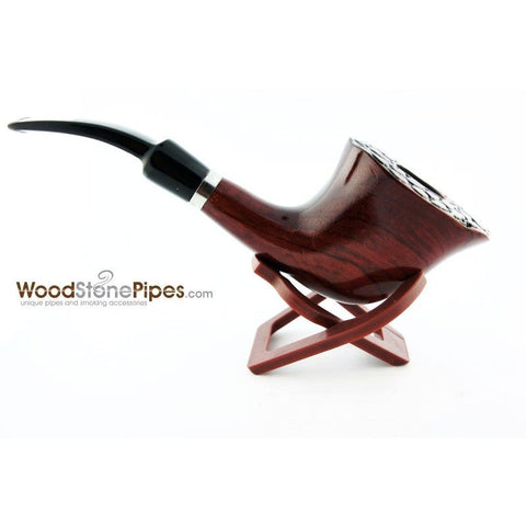 Engraved Freehand Tobacco Pipe