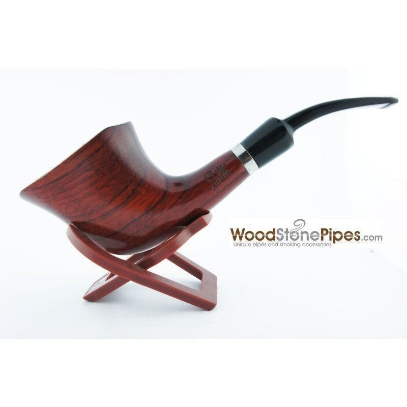 Engraved Freehand Tobacco Pipe - WoodStonePipes.com   - 7