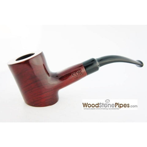 "Cherrywood Style Rosewood Tobacco Pipe - 5"" - WoodStonePipes.com   - 4"