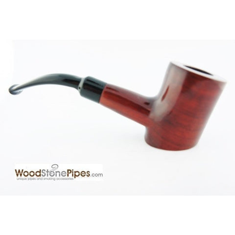 "Cherrywood Style Rosewood Tobacco Pipe - 5"" - WoodStonePipes.com   - 7"