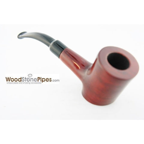 "Cherrywood Style Rosewood Tobacco Pipe - 5"" - WoodStonePipes.com   - 8"