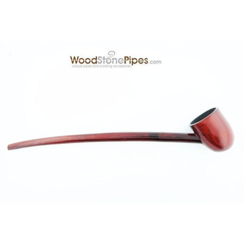 Deep Bowl Churchwarden / Gandalf Wizard Style Rosewood Smoking Tobacco Pipe - 9