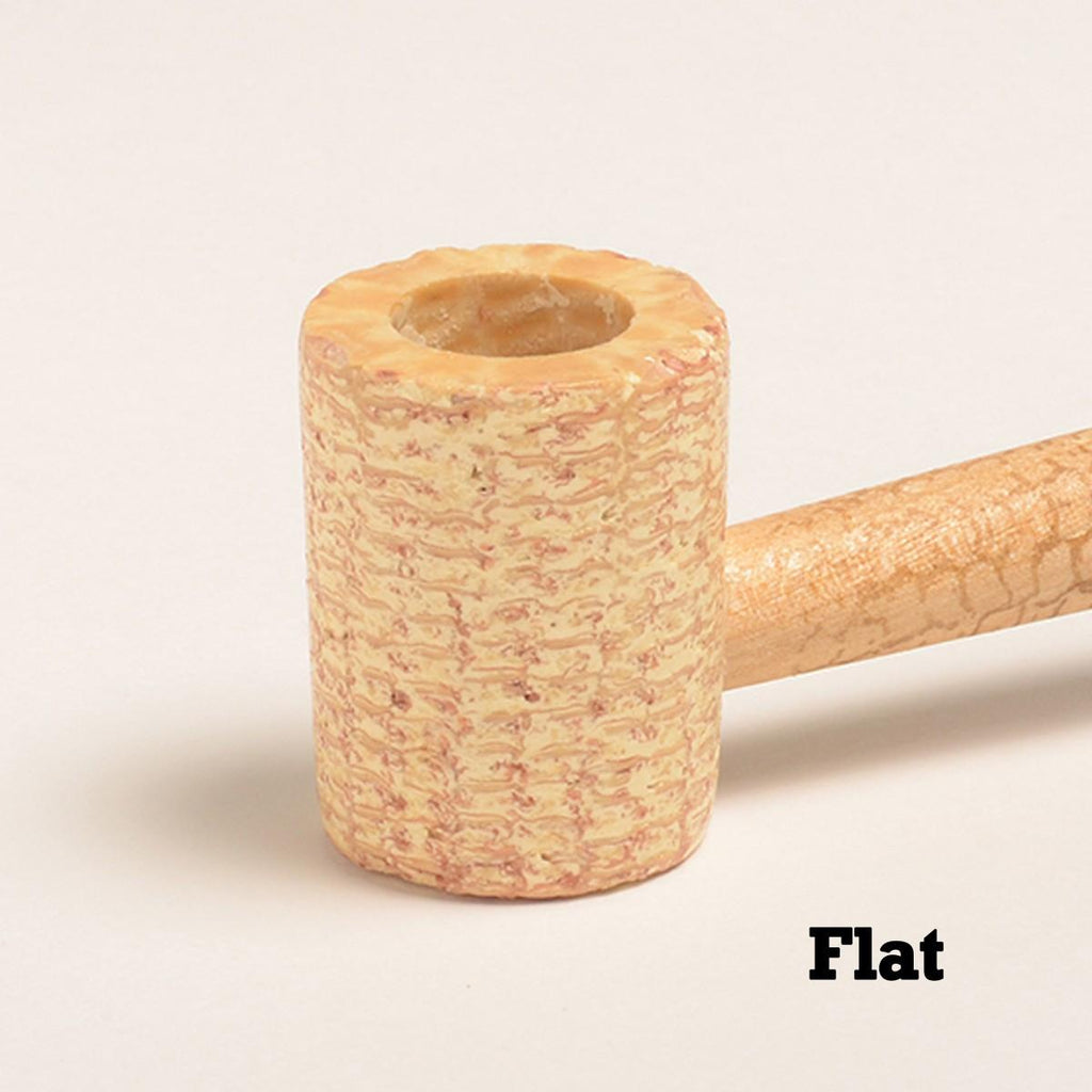 Washington Corn Cob Pipe - with Bent and Straight Bit - WoodStonePipes.com   - 3