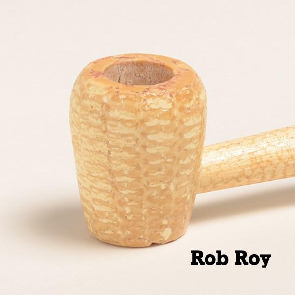 Washington Corn Cob Pipe - with Bent and Straight Bit - WoodStonePipes.com   - 2