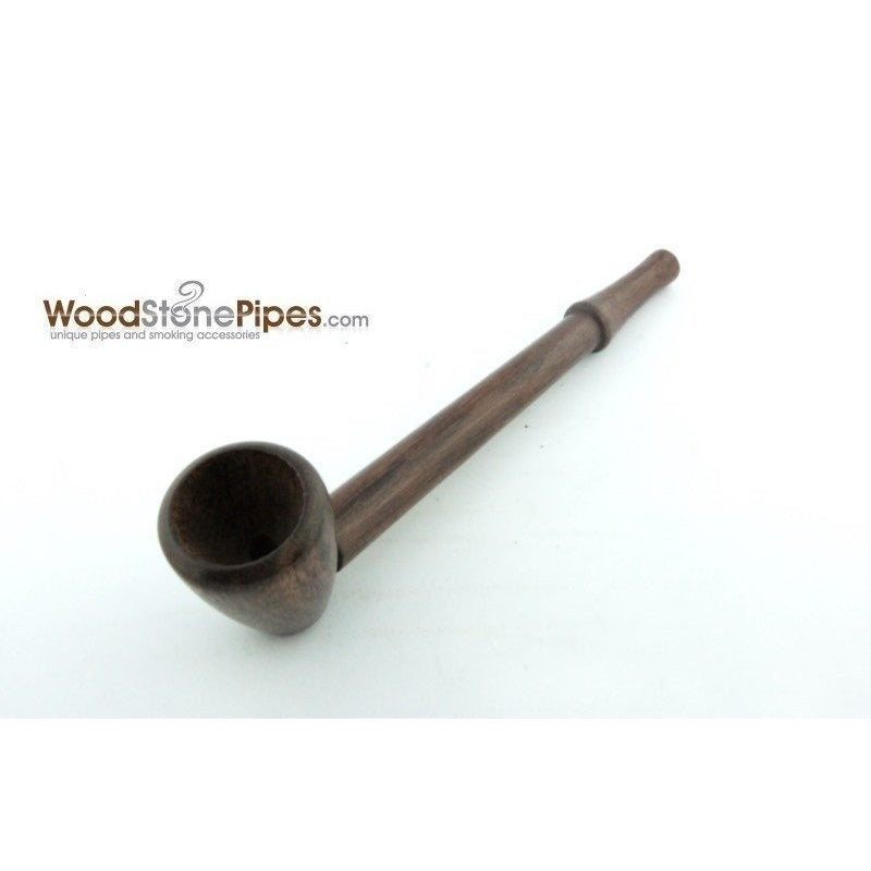 "4.5"" Mini Collectible Rosewood Wood Smoking Tobacco Pipe  Pipe - WoodStonePipes.com   - 2"