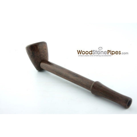 "4.5"" Mini Collectible Rosewood Wood Smoking Tobacco Pipe  Pipe - WoodStonePipes.com   - 5"