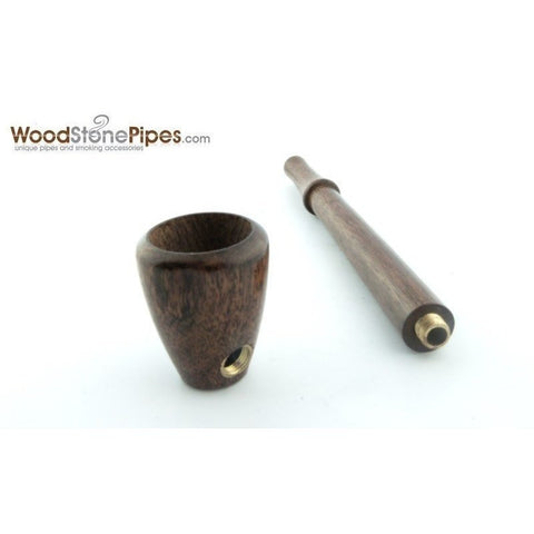 "4.5"" Mini Collectible Rosewood Wood Smoking Tobacco Pipe  Pipe - WoodStonePipes.com   - 6"
