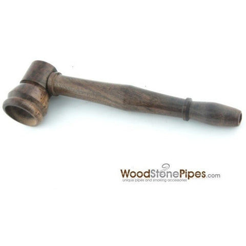 "4"" Mini Tobacco Pipe Collectible Rosewood Wood Smoking Pipe - WoodStonePipes.com   - 2"