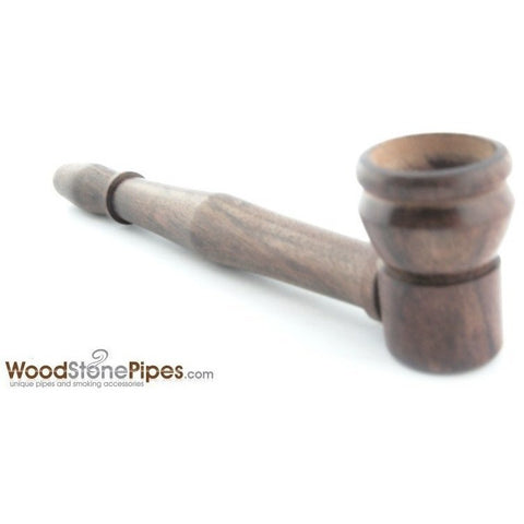 "4"" Mini Tobacco Pipe Collectible Rosewood Wood Smoking Pipe - WoodStonePipes.com   - 5"