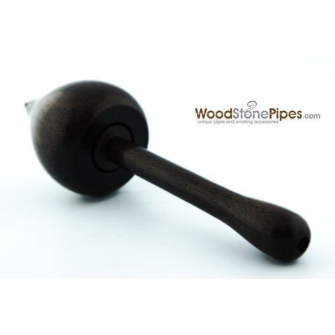 "4"" Rosewood Wood Tobacco Pipe - WoodStonePipes.com   - 3"